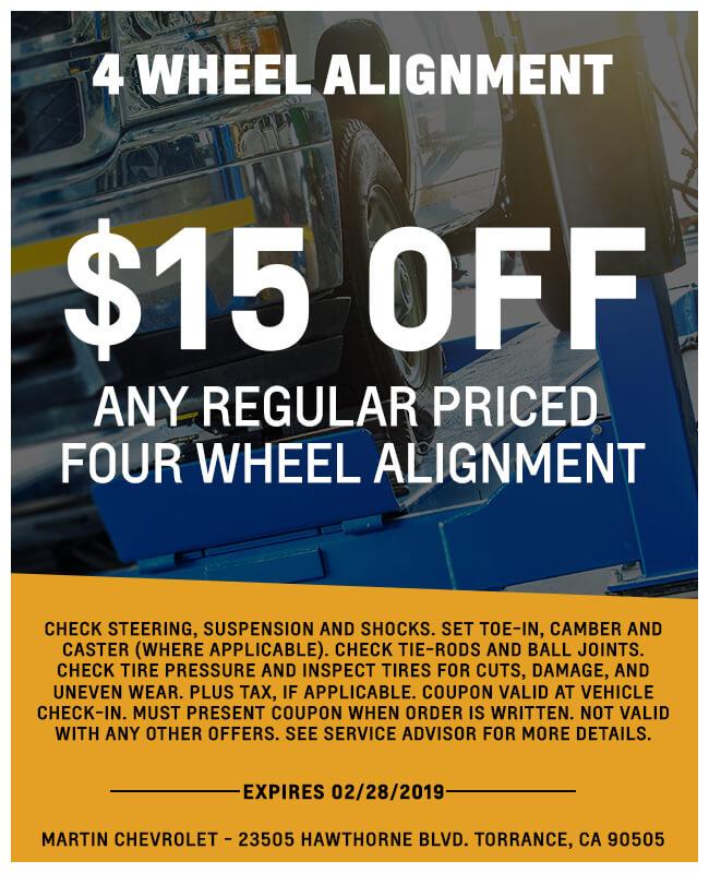 Four Wheel Alignment