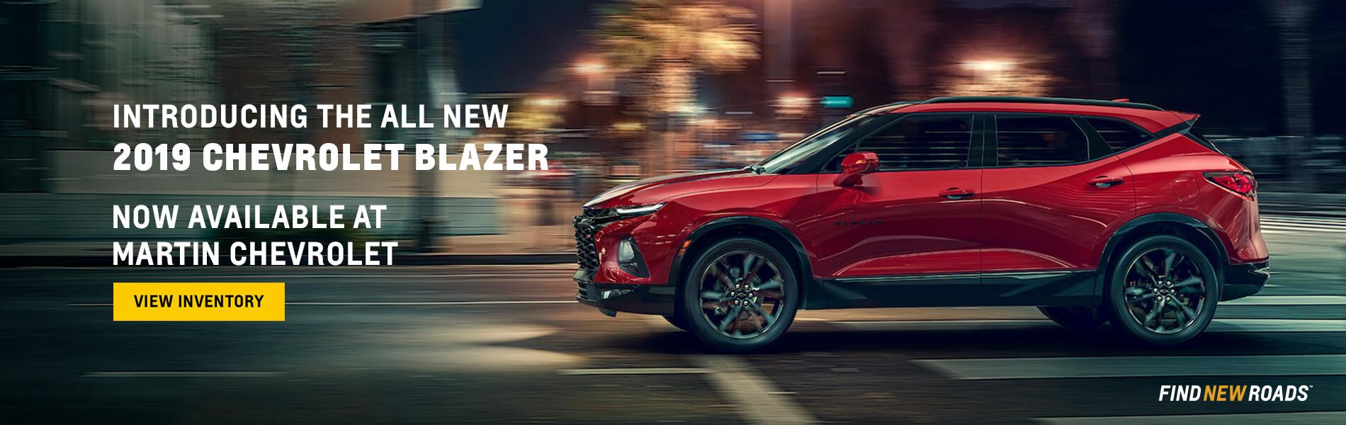 Chevrolet Blazer Promo