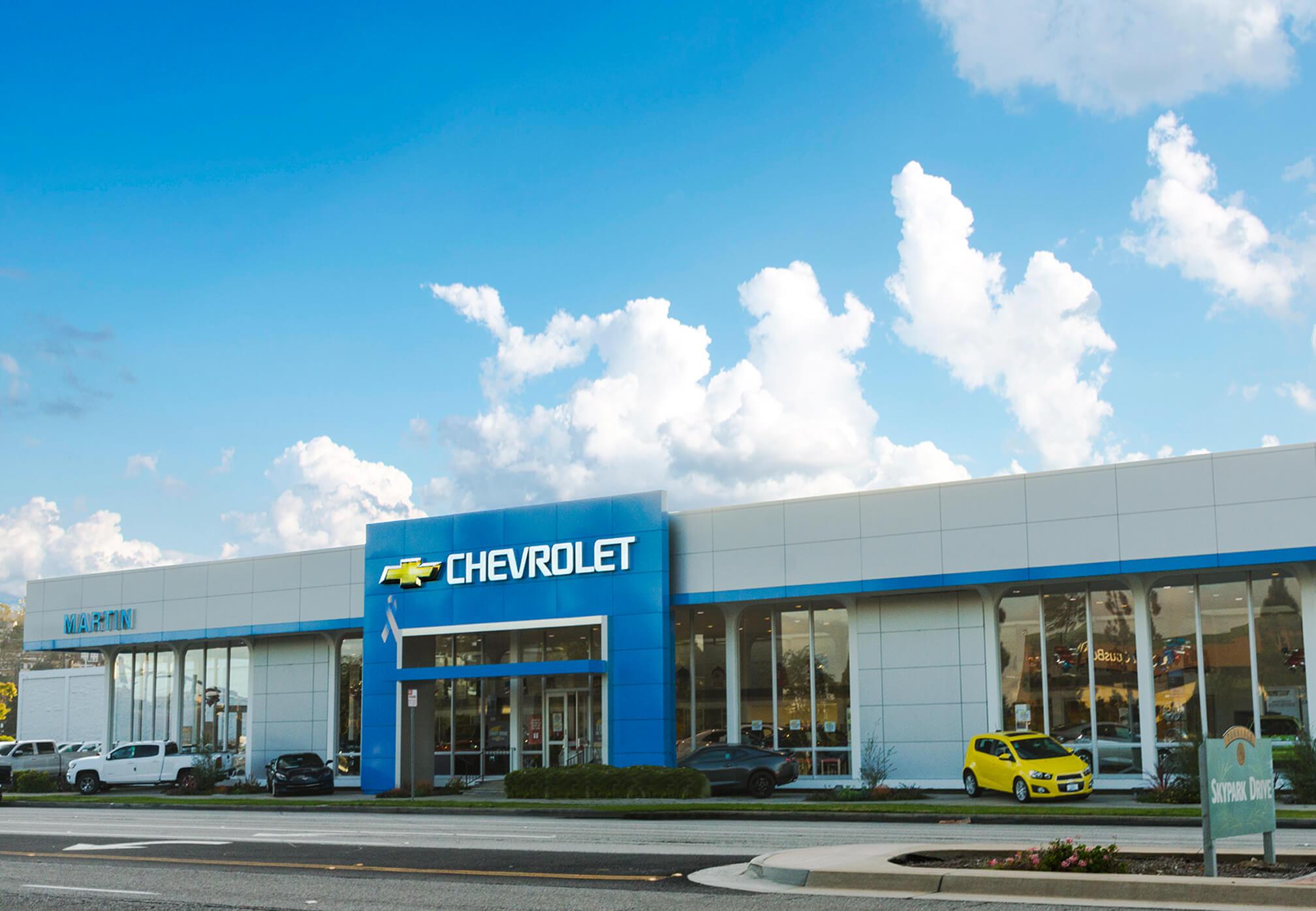 Visita a Martin Chevrolet en Torrance