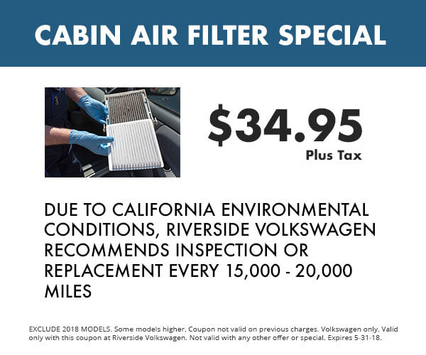 5 - Cabin Air Filter