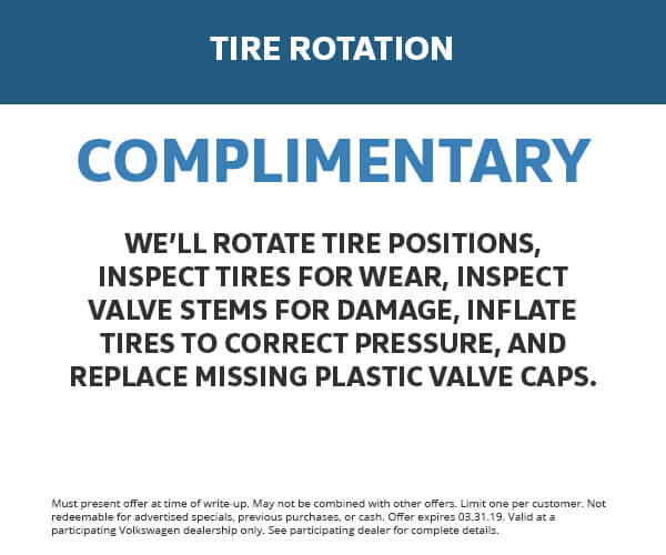7 - Tire Rotation