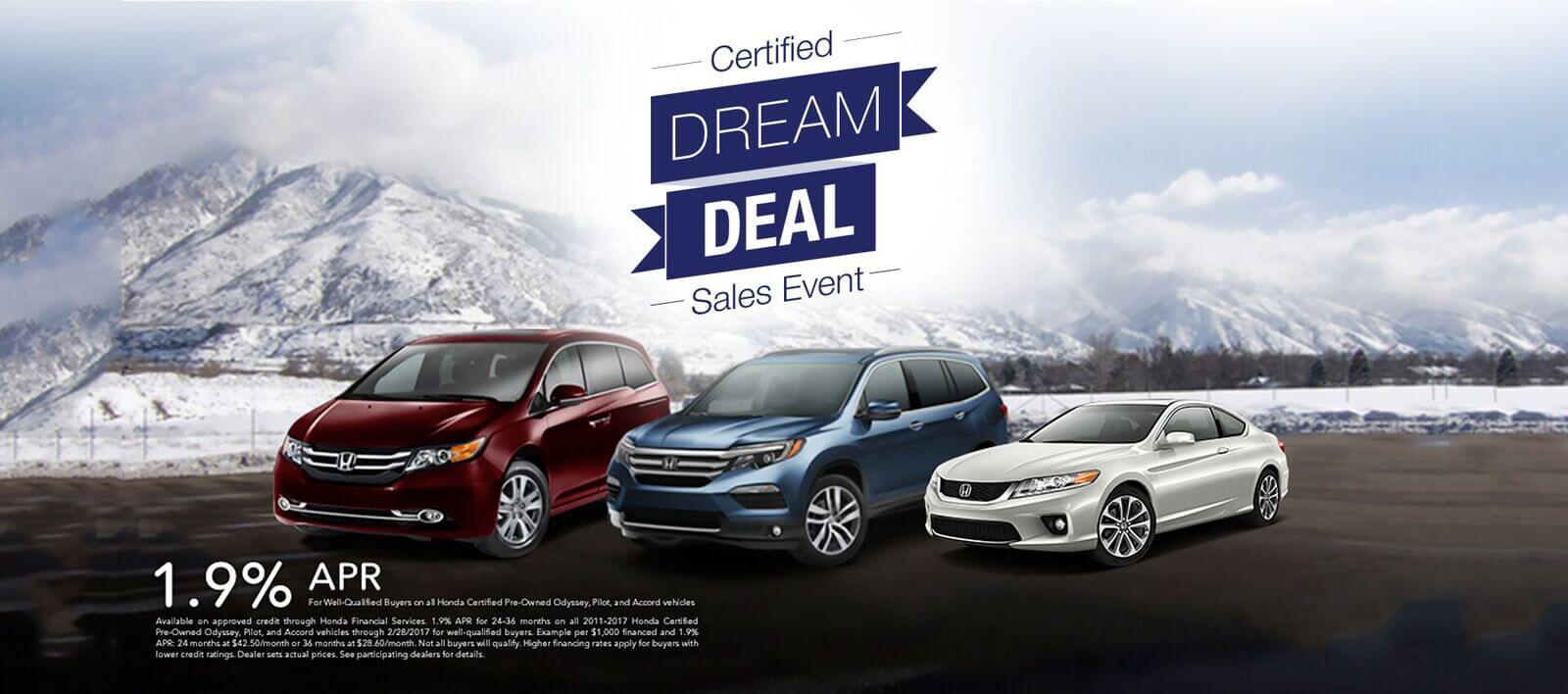 Dream Deal Sale