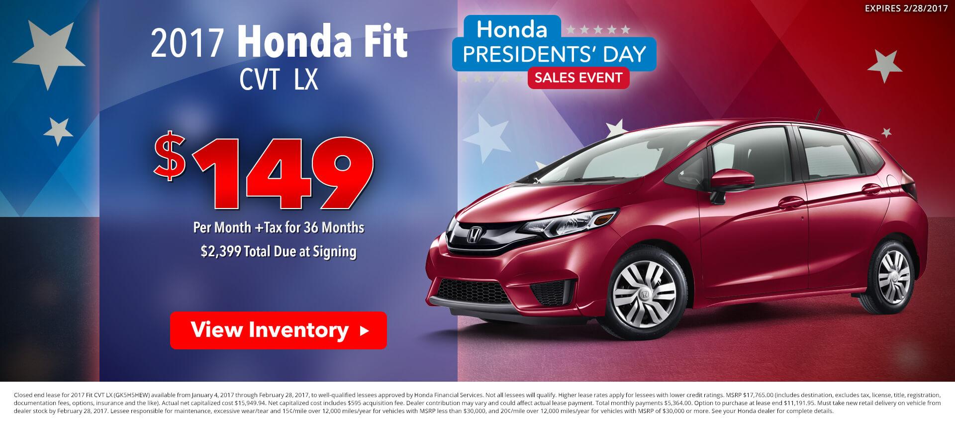 Honda Fit HP