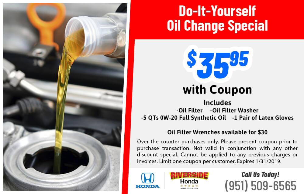 DIY Oil Changes