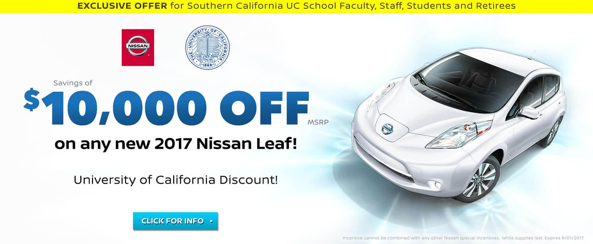 UC Irvine LEAF