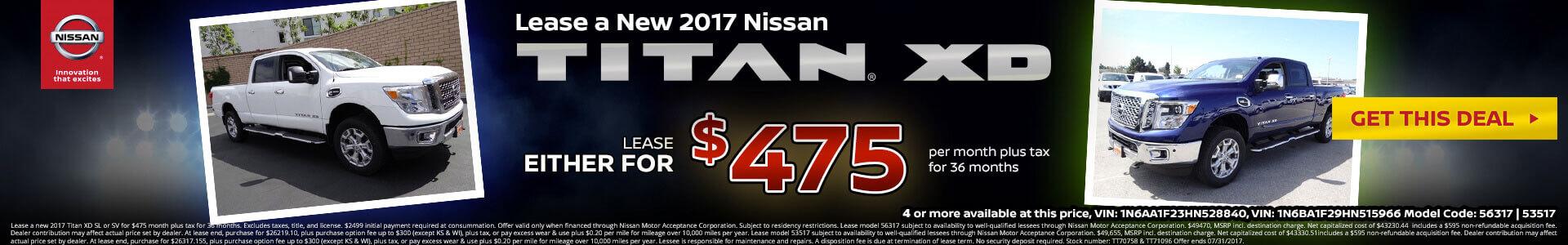 Titan XD SRP