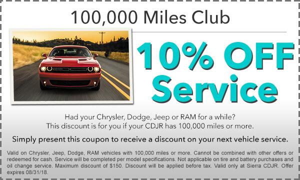 100,000 Mile