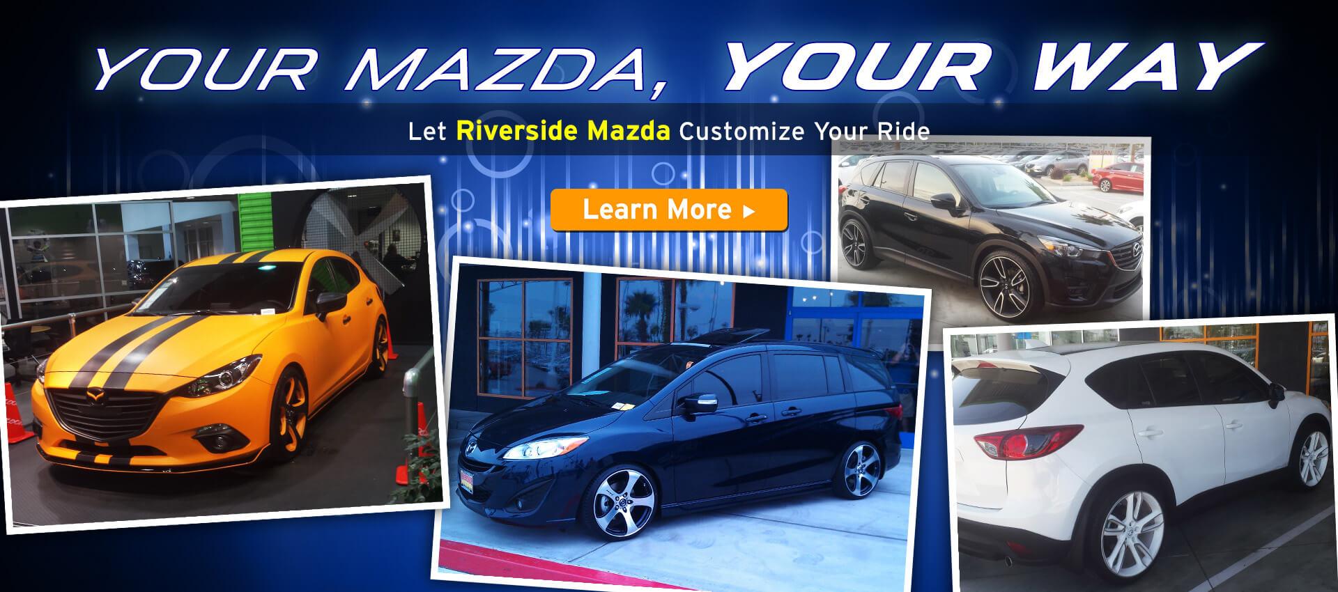 Custom Mazda