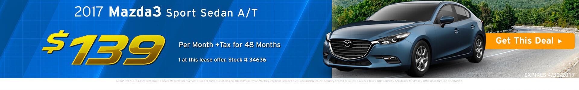 Mazda 3 Sedan SRP