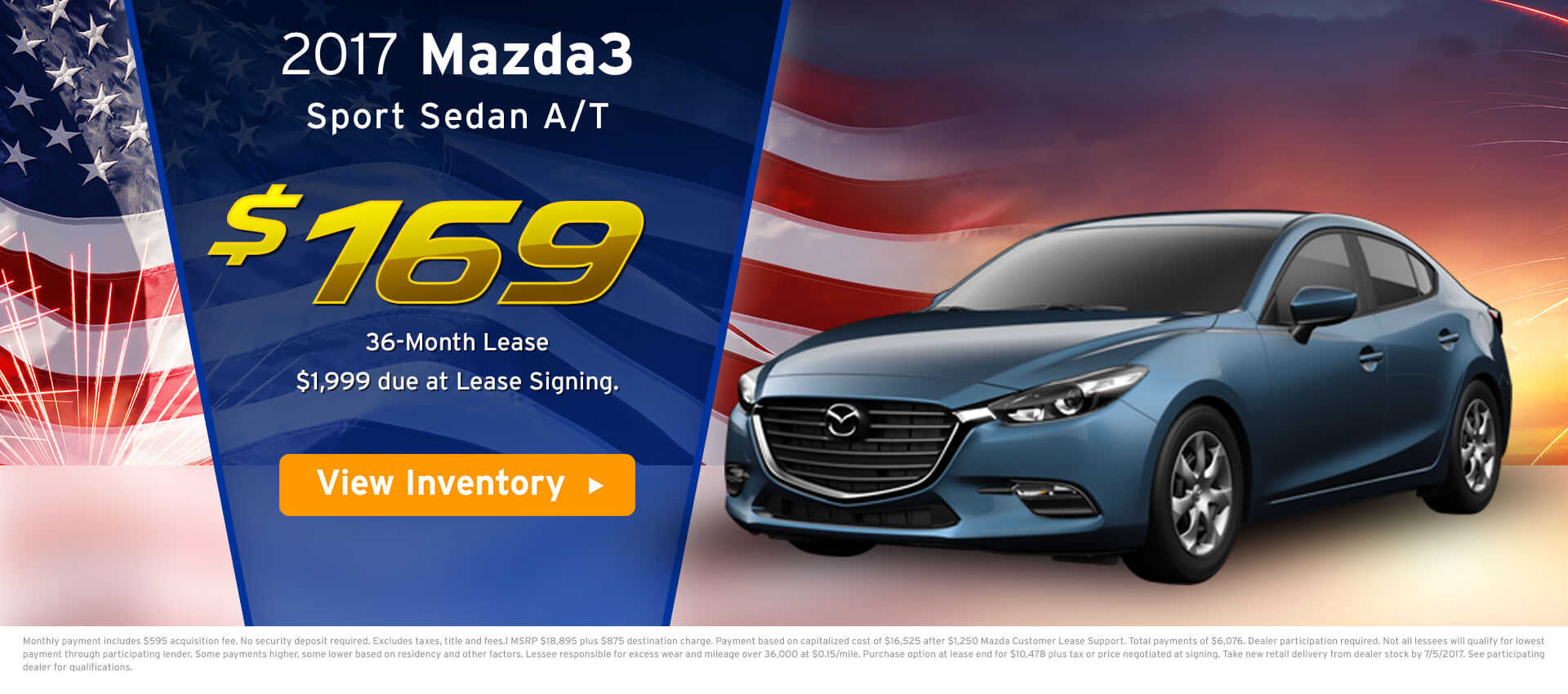 Mazda 3 Lease