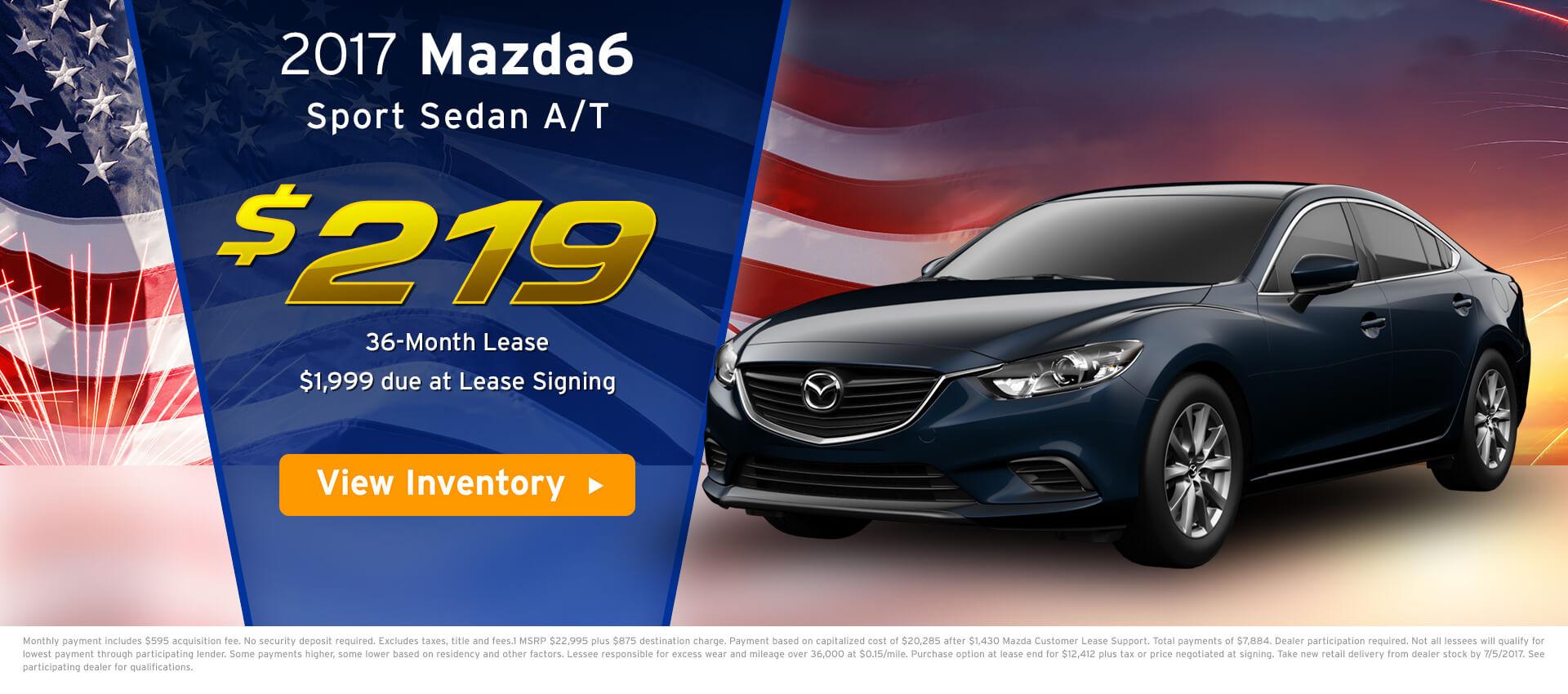 Mazda 6 Lease HP