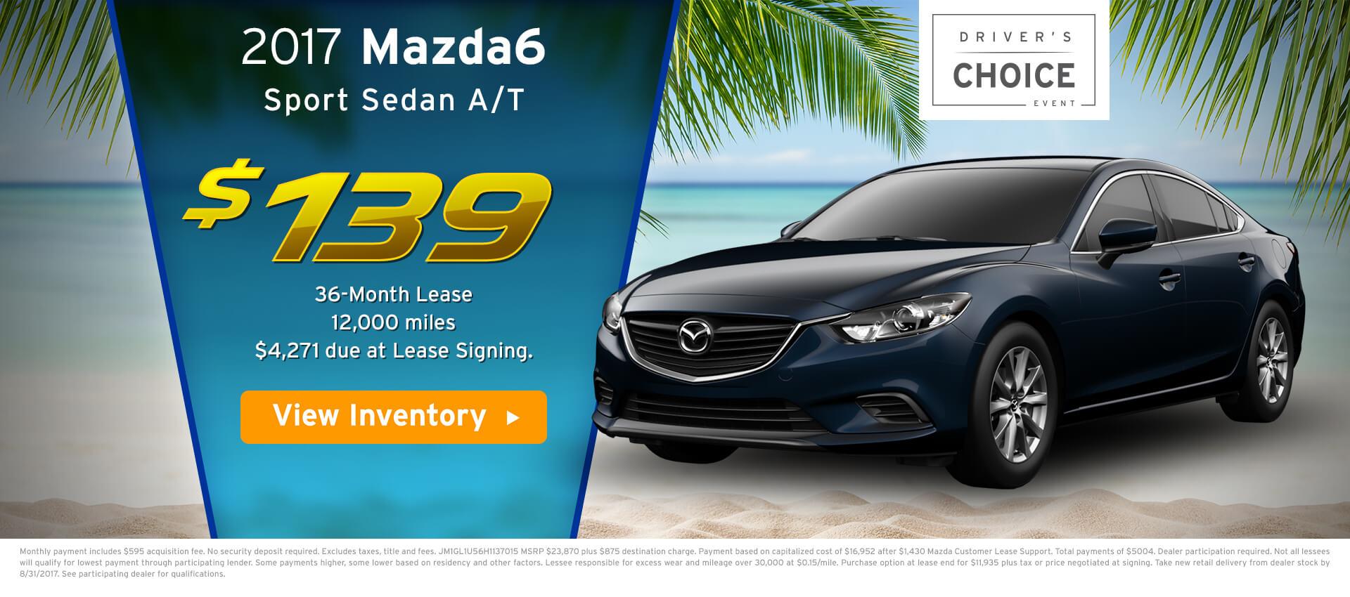 Mazda6 Lease HP