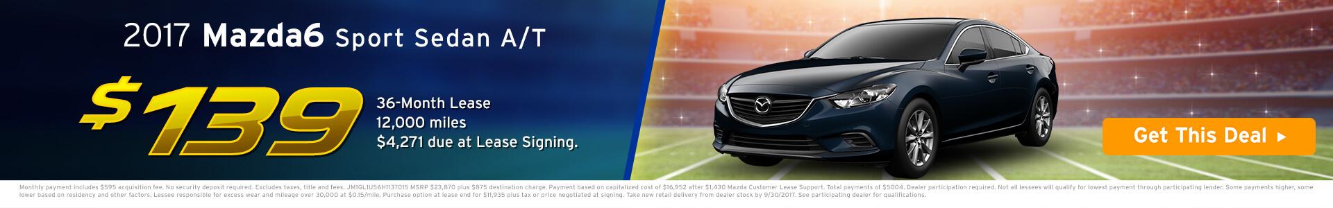 Mazda6 SRP