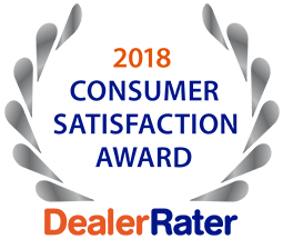 DealerRater Award Best Dealership 2018
