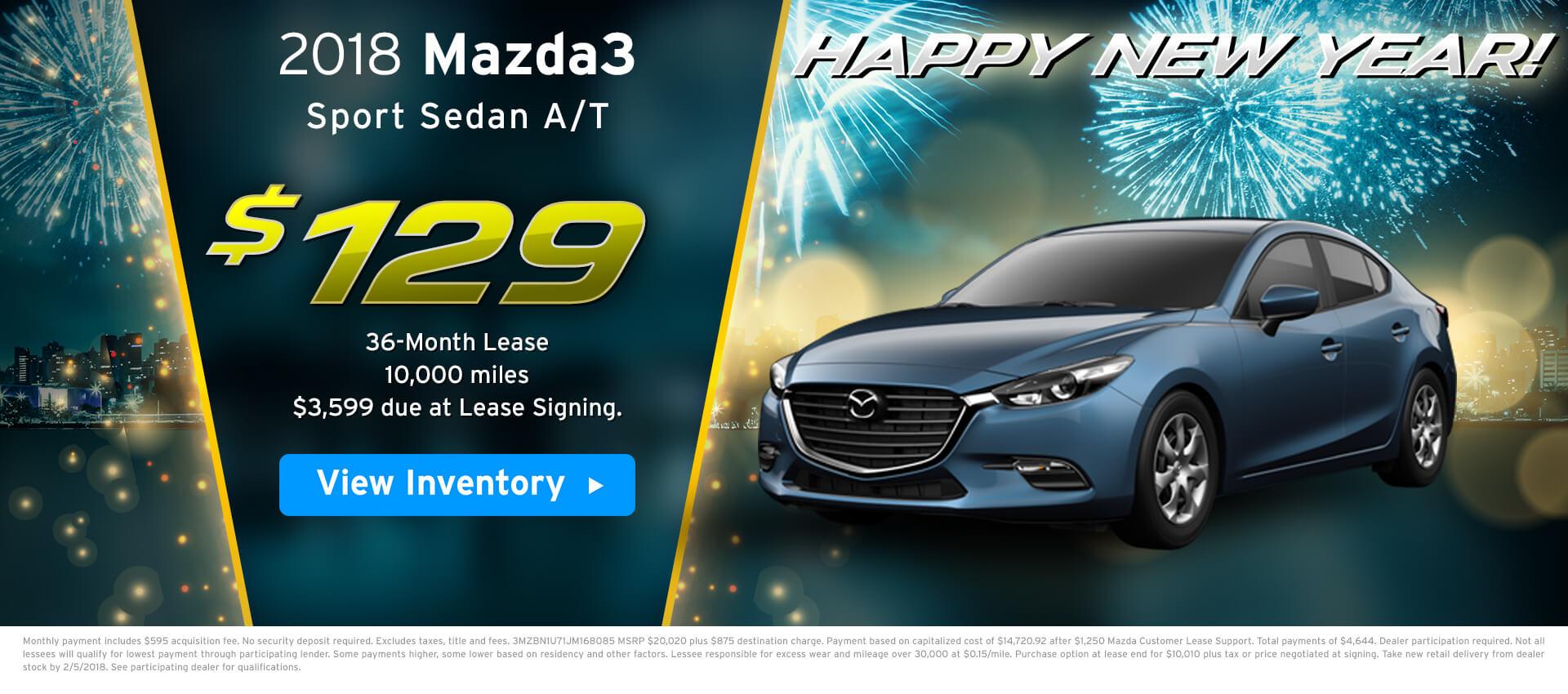 Mazda3 Lease
