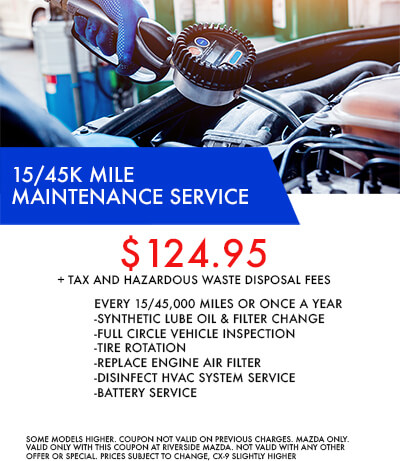 15/45k Mile Service