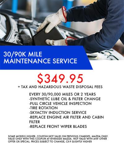 30/90k Mile Service