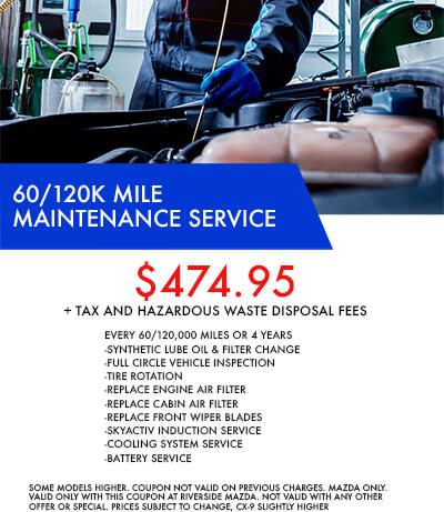 60/120k Mile Service