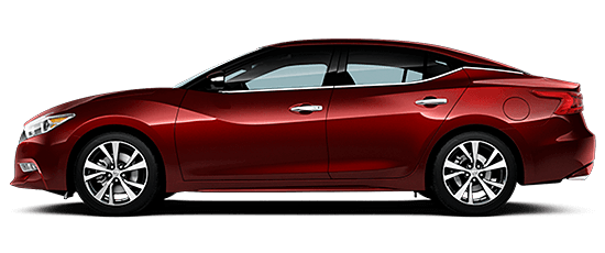 A 2018 Nissan Maxima SL on a white background