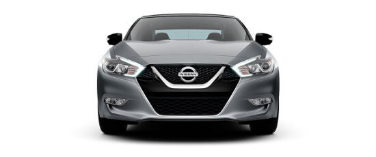 A 2018 Nissan Maxima SV on a white background