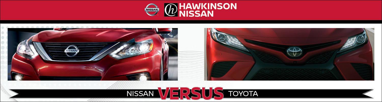 Nissan vs. Toyota Banner
