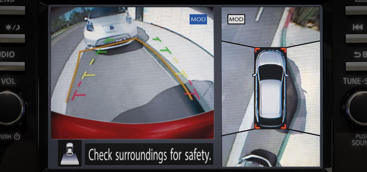 2018 Nissan Murano Around View Monitor