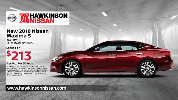 2018 Nissan Maxima S