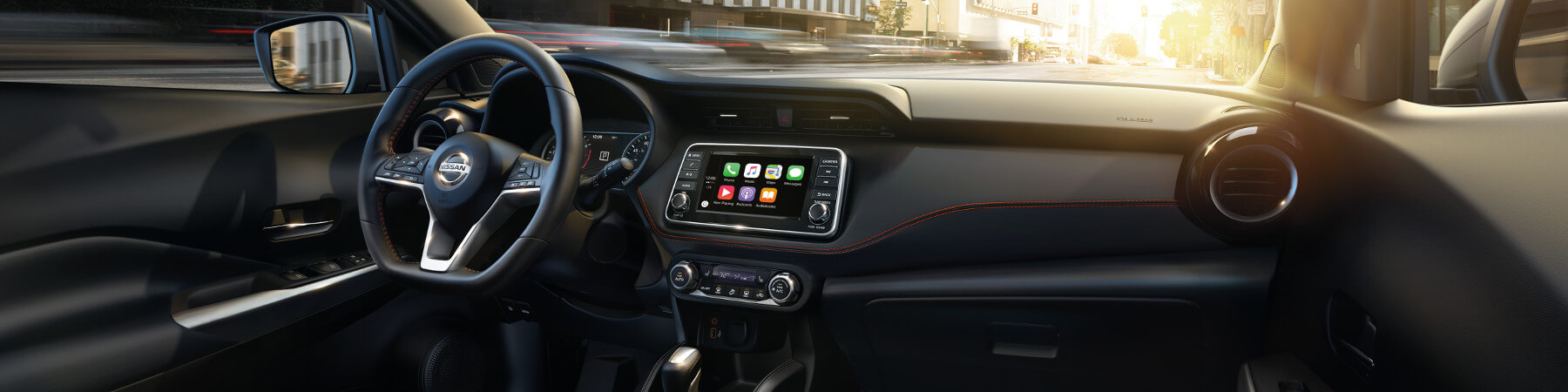 The Interior of the Nissan Kicks