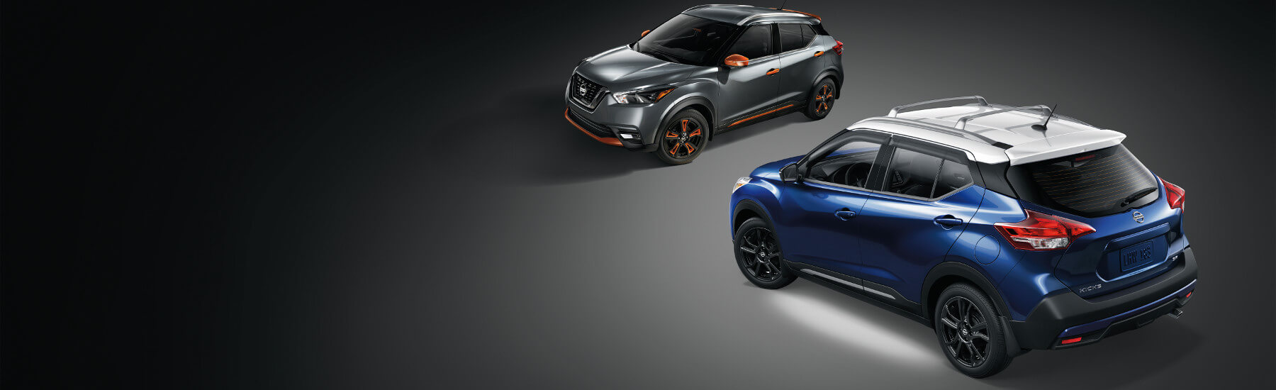 Two Nissan Kicks
