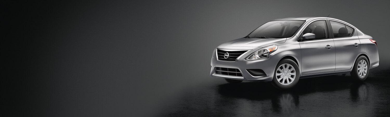 A silver 2018 Nissan Versa