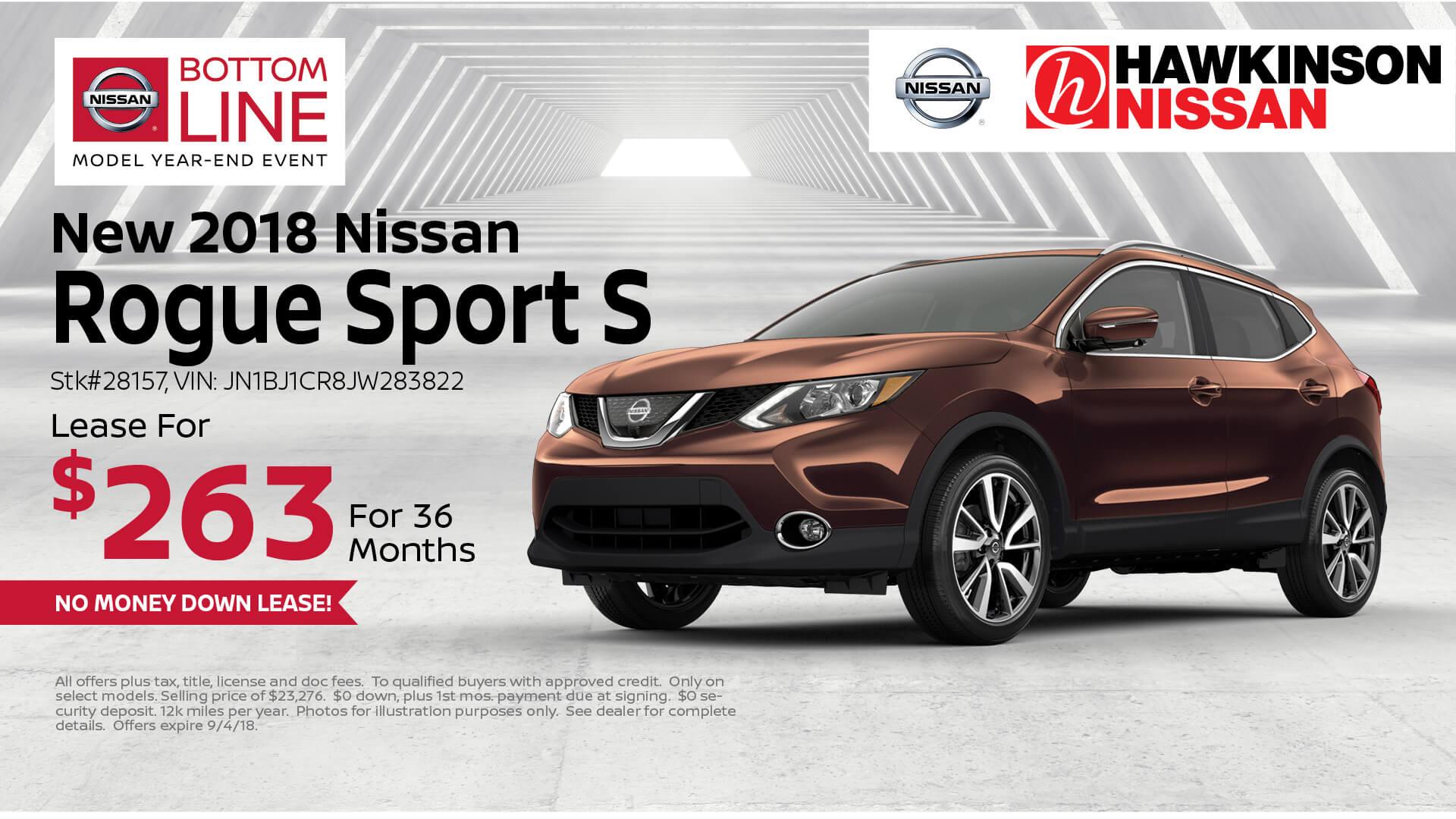 2018 Nissan Rogue Sport Special Offer