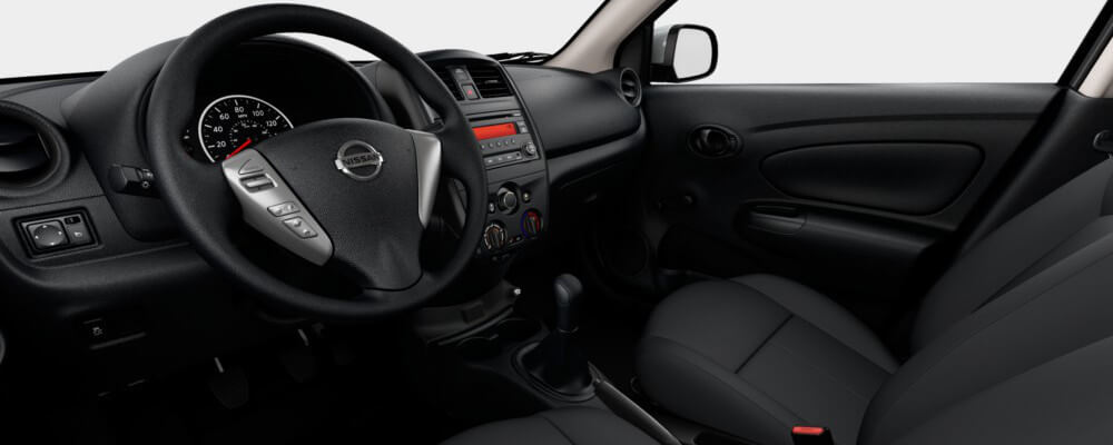 The Interior of the Nissan Versa