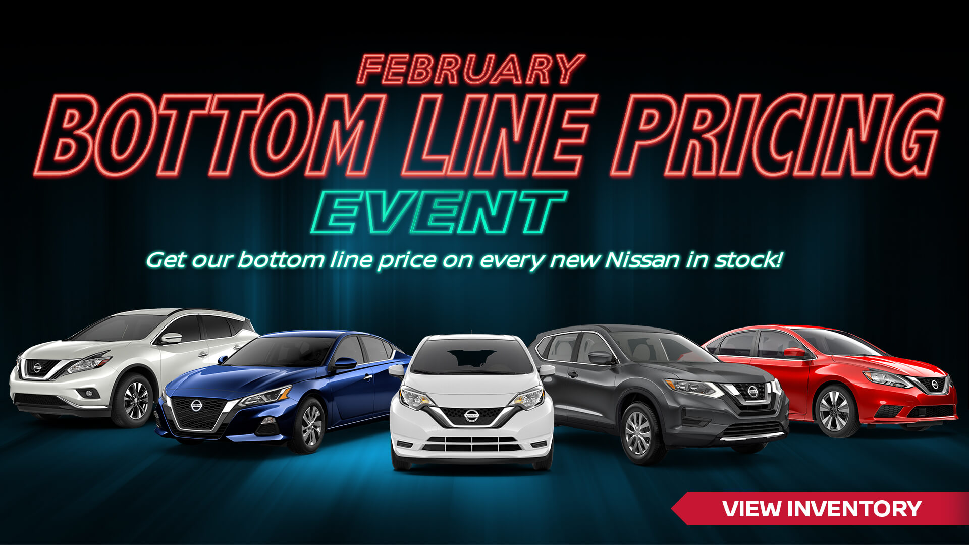 February Sales Event