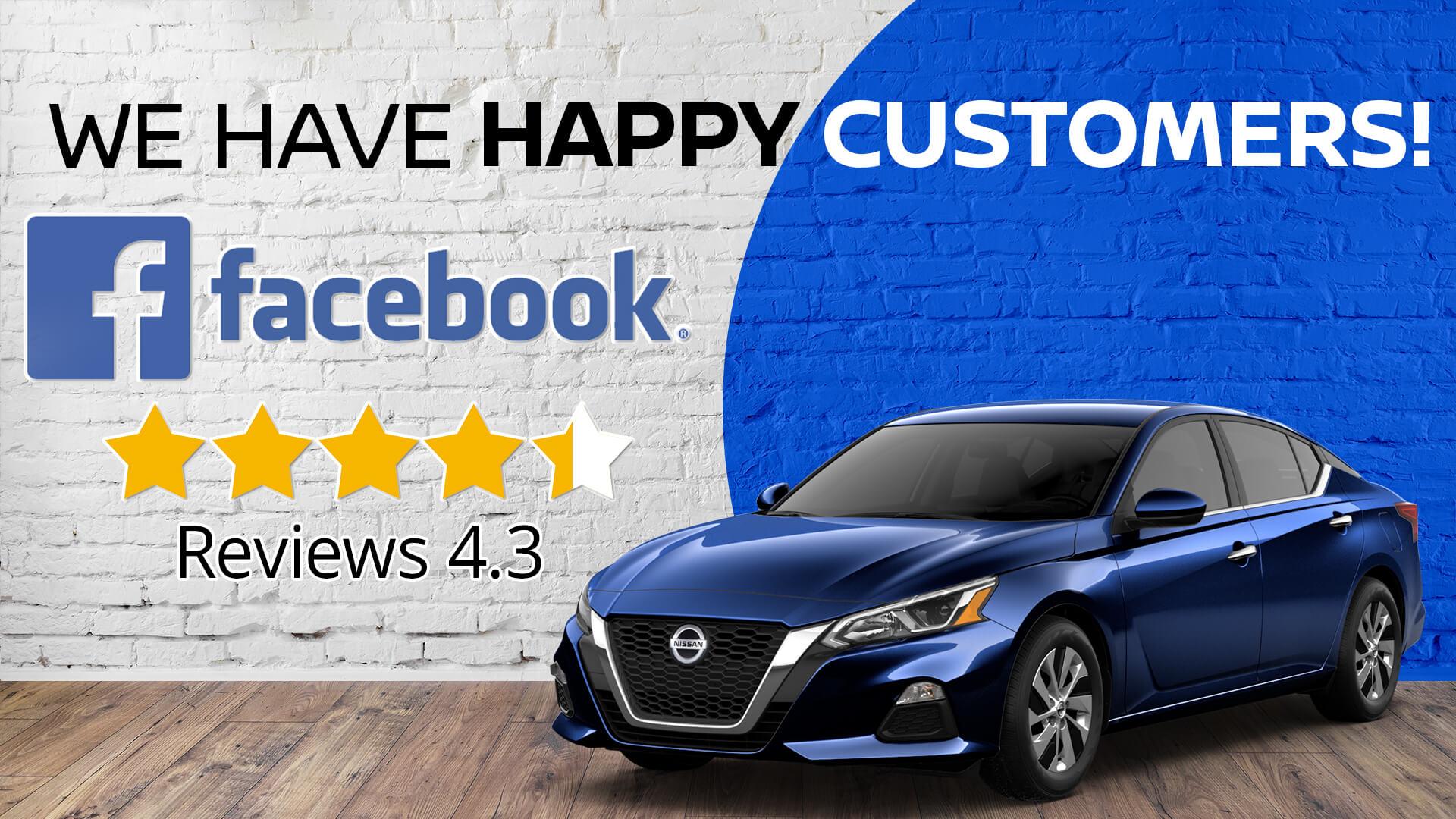 Happy Customers Facebook