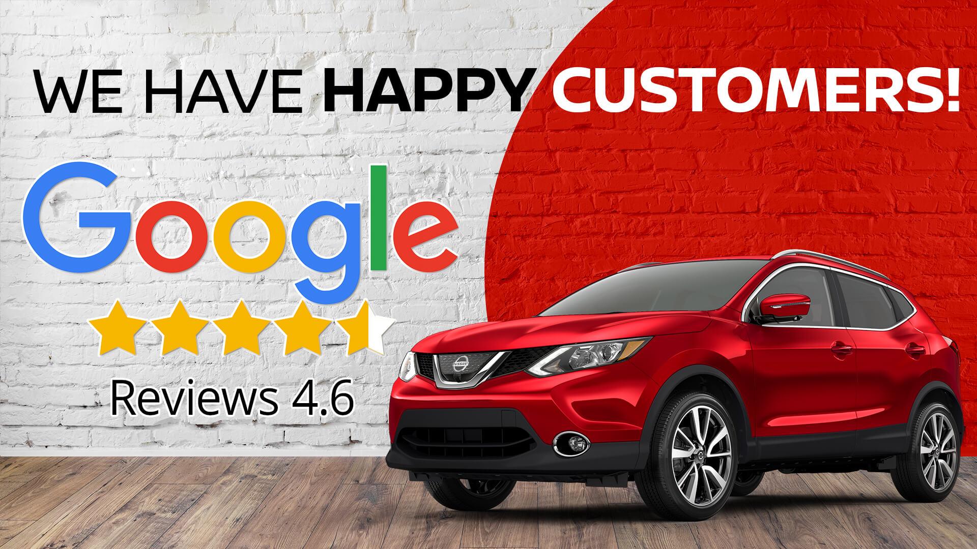 Happy Customers Google
