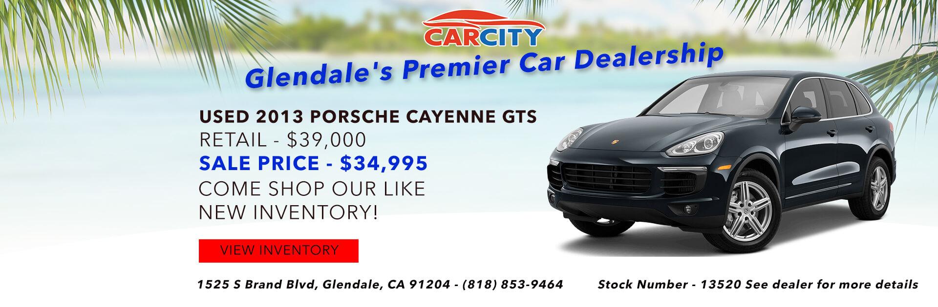 Cayenne GTS