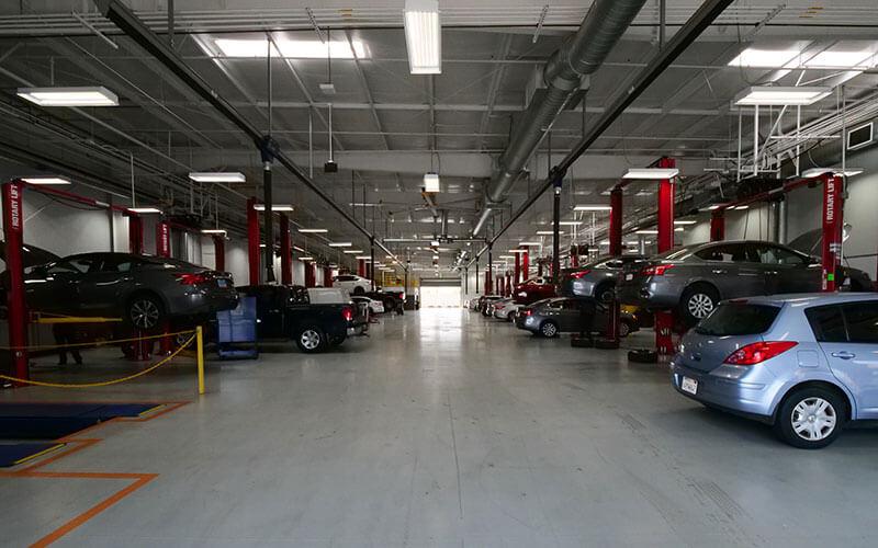 Nissan Service Bays