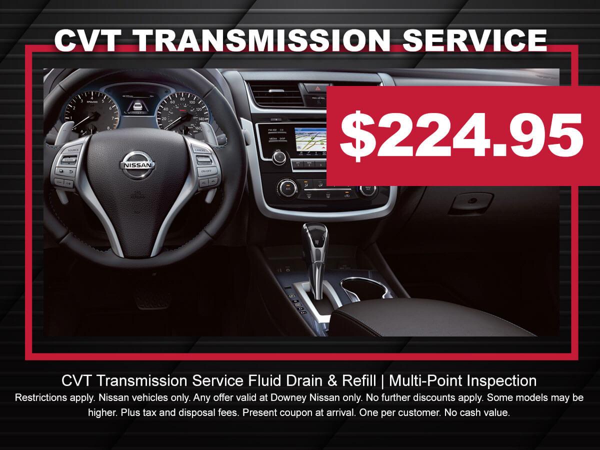 Nissan Transmission Fluid Exchange Service | Downey Nissan