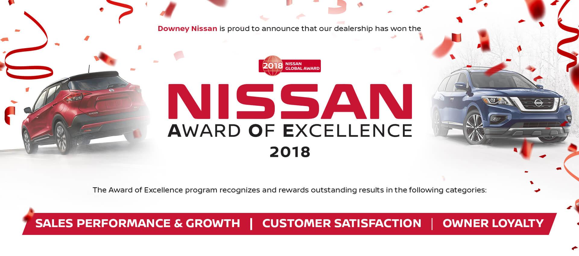 Nissan Award