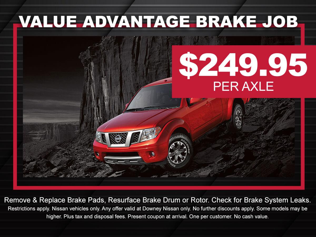 Nissan Brake Job Special
