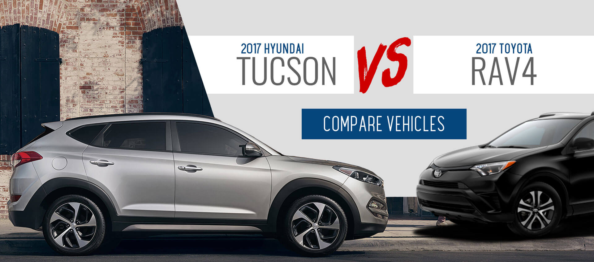Tucson Vs. RAV4
