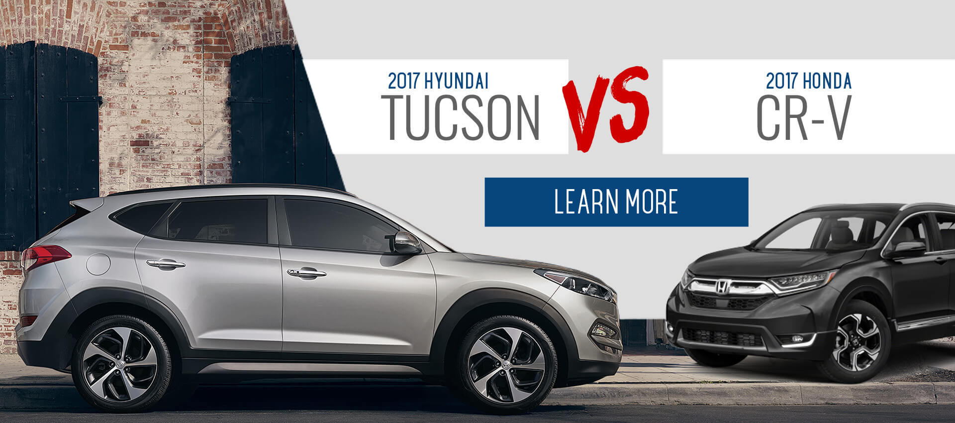 Tucson Vs. CR-V
