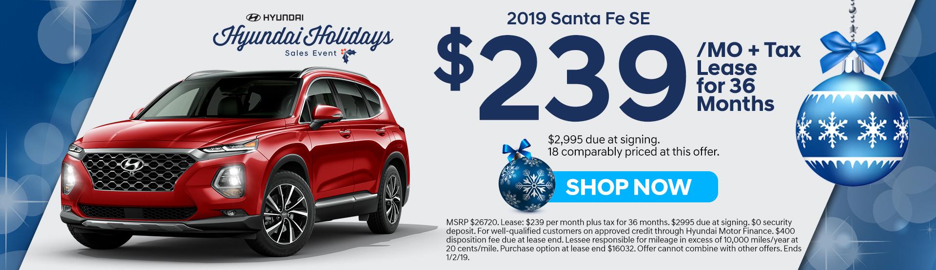 2019 Santa Fe