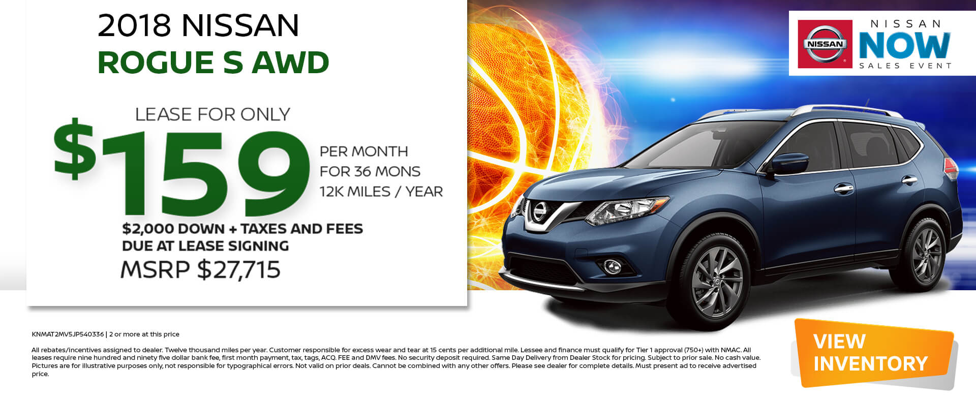 Nissan Rogue Lease 159