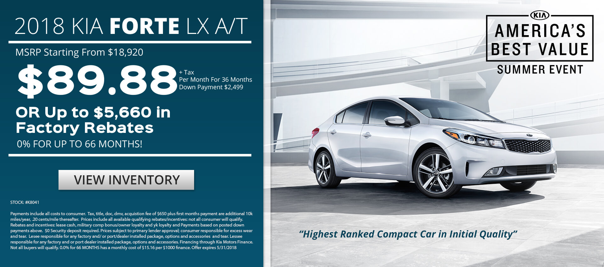 Forte Lease $89.88