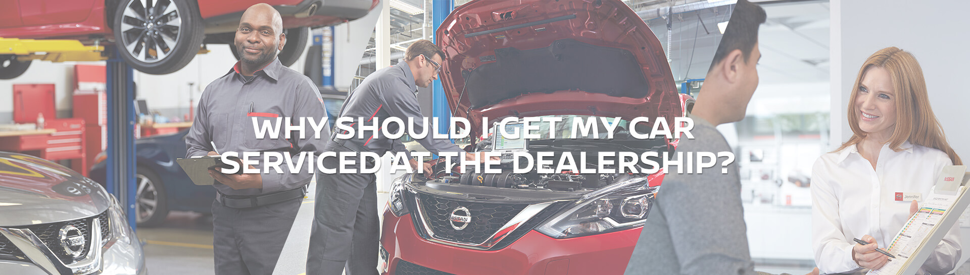 Why should I get my car serviced at the Dealership?