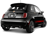 Fiat 500 Abarth in Port Costa