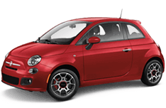 Fiat 500 in Laguna Woods