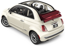 Fiat 500c in Port Costa