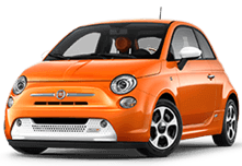 Fiat 500e in Laguna Woods